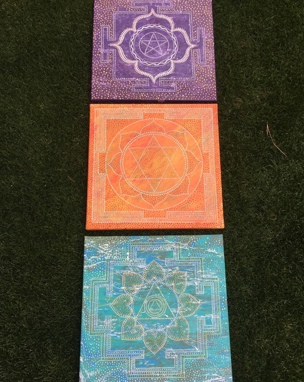 Galya-Art Yantra of success,wealth,happiness